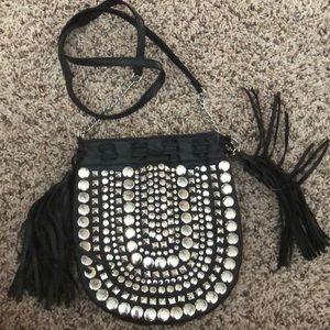 Black Studded Purse